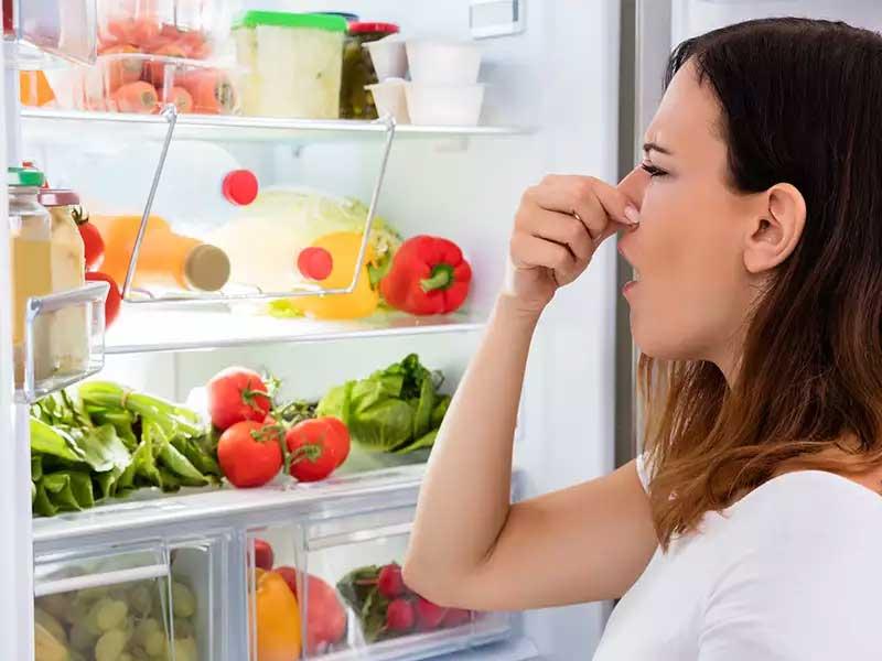چگونه بوی بد یخچال فریزر را ازبین ببریم؟